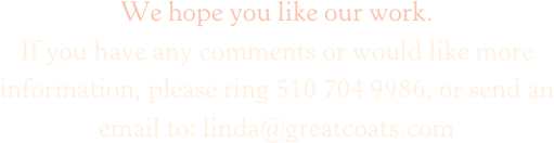 We hope you like our work.